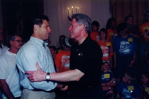 Steve Young:Bill Clinton