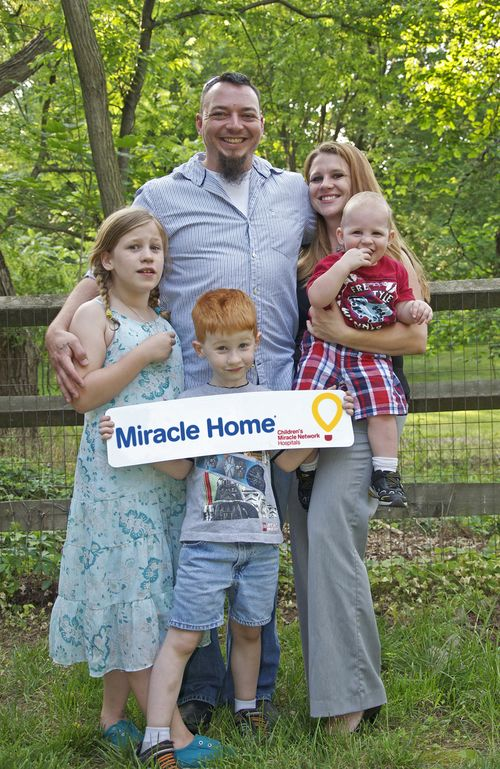 Jessica Clausen and family - REMAX Month of Miracles