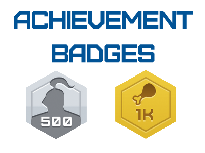 AchievementBadges