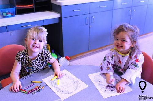 CMN Hospitals Miracle Kid Coloring 5