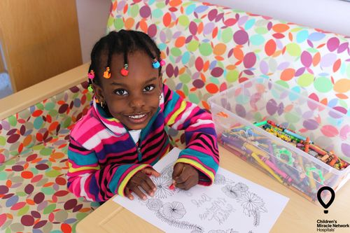 CMN Hospitals Miracle Kid Coloring 1