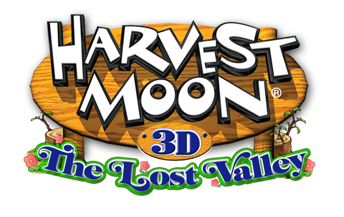 Harvest Moon The Lost Valley Logo-697