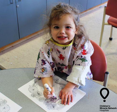 CMN Hospitals Miracle Kid Coloring 2